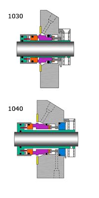 Mechanical Seals 1000 Series - Capabilities
